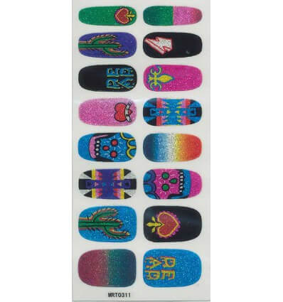 Nail Stickers Cactus Pear