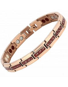 BRACELET MAGNETIQUE TITANE ROSE AR00860